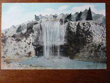 Lot04c BLACKPOOL The WATERFALL South Shore Postcard c1910