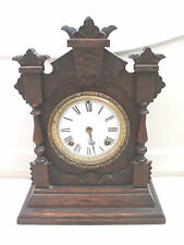 Other Wooden Edwardian 8-Day Antique Clocks