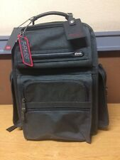 NWT Olive Tumi T-Pass Business Class Brief Back Pack Travel Luggage Bag # 026578
