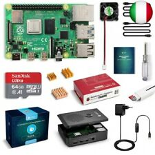 Labists Raspberry Pi 4 Model B 4gb RAM Starter Kit RPI Barebone con MicroSD