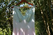 Vintage Vanity Fair 1950s Retro Pastel Kaleidoscope Nightgown S 34 Chiffon Tulle