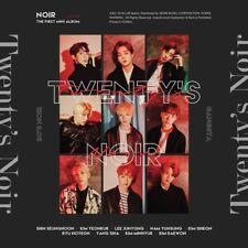 NOIR [TWENTY'S NOIR] 1st Mini Album CD+Photobook+2p Photocard K-POP SEALED