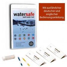 Watersafe Trinkwasser Wassertest Set Bakterien Blei Chlor pH Härte -10 in Einem
