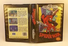 Spider-Man (Sega Genesis, 1991) Cleaned Tested in Box
