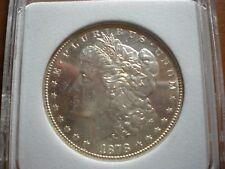 1878-S Morgan Silver Dollar, Proof-Like, Near Gem BU PL