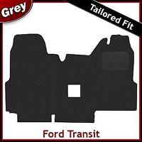 FORD TRANSIT 2000-2006 Double Passenger Seat Tailored Carpet Car Mat GREY