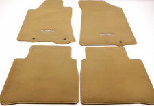 New OEM Nissan Altima 4-Piece Carpet/Floor Mat Set Beige - 999E2-UZ001