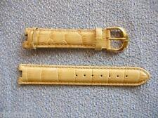 Steinhausen CODA Sand Leather Gold Women's Watch Band *New & Free Shipping*