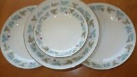 "Soup Bowls Vintage by Fine China of Japan 3 8"" 1 Fruit bowl circa 1967 EUC"