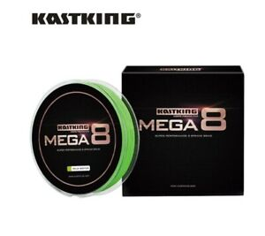 KastKing Mega 8 strand Braided Line 274m Spool for Sea Fishing Coarse 20 - 40LBS