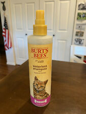 Burt's Bees For Cats Waterless Shampoo with Apple & Honey | 10oz | 99.7% Natural