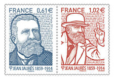 TIMBRE 4869-4870 NEUF XX LUXE - JEAN JAURES ( 1859-1914 )