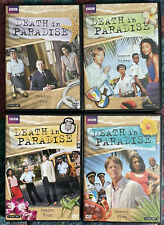 Death in Paradise DVD Lot: Season 1 3 4 5 BBC 8 Discs VERY GOOD! FREE SHIPPING!