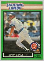 1989 STARTING LINEUP BASEBALL Mark Grace Card NM Chicago Cubs Diamondbacks MLB