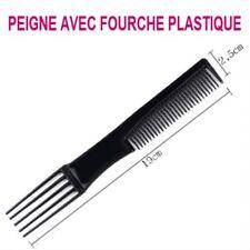 PEIGNE FOURCHE 5 DENTS  AFRO RATEAU LISSAGE DEMELE CHEVEUX PEI805