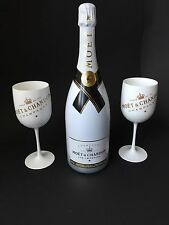 Moet Chandon Ice Imperial Champagner 1,5l 12% Vol + 2 Ice Imperial Acryl Gläser