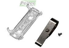 Transparent holder including visor clip for Hormann HSE remote controls (437006)