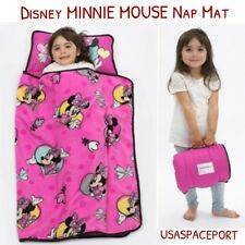 Disney MINNIE MOUSE Pink NAP MAT Toddler Daycare Preschool BLANKET + PILLOW Set