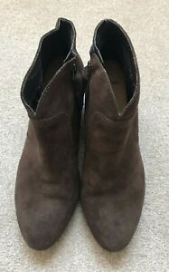 Clarks Softwear Suede Ankle Boots UK 5.5