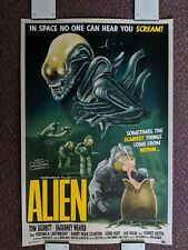 Tom Walker Alien Screen Print Limited Edition nt mondo