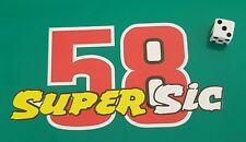 Marco Simoncelli 'Super Sic' Sticker 58 sticker decal 150mm x 75mm 7 year vinyl