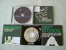 SHOUT OUT LOUDS job lot of 5 promo CD albums/singles Howl Howl Gaff Gaff Optica