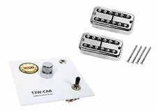 TV Jones Power'tron Guitar Pickups+Fender Cabronita Tele Harness Concentric Knob