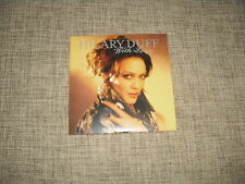 HILARY DUFF - WITH LOVE - 1 TRACK ADVANCE CARDSLEEVE DJ RADIO PROMO   BREATHE IN