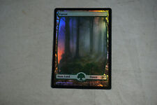 MTG 1x FOREST Deutsch Limitiert *Version 2 GERMAN NM* WALD