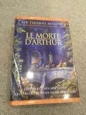 Thomas Malory LE MORTE D'ARTHUR hardback 2000 Cassell Moorcock; illustrated Ferg