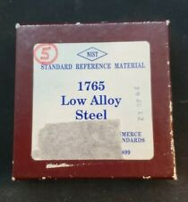 Nist Standard Reference Material 1765 Low Alloy Steel