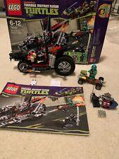 Lego Nickelodeon Teenage Mutant Ninja Turtle 79101 Shredders Dragon Bike COMPLET