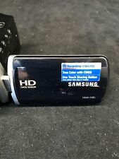 Samsung HMX-F90 HD Camcorder - 52X Optical Zoom - Black