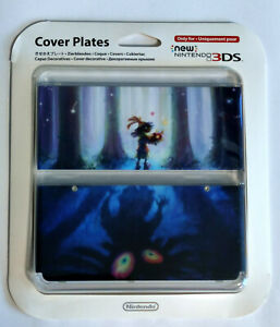 NEU !!! New Nintendo 3DS Zierblende / Cover Plates 023 Zelda Majora's Mask