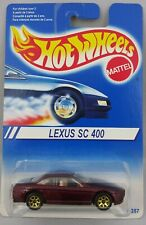 1994 Hot Wheels Lexus SC 400 VHTF International Card MOC Gold 7 Spoke Wheels