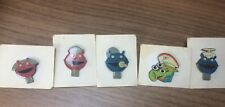 Cadbury Smash Martian Pin Badges Set RARE lot Collectable Alien 70's 80's TV
