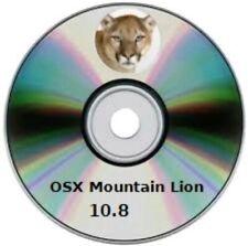 MAC OS X  Mountain Lion  10.8 - 8, 5  GB DVD DL avviabile RECUPERO-Upgrade