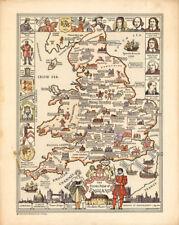 1930-1939 Date Range Antique World Maps & Atlases