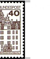 BRD (BR.Deutschland) 1028A,1037A I-1038A I (kompl.Ausg.) postfrisch 1979 Burgen