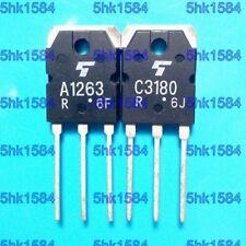 1pairs OR 2PCS  Transistor TOSHIBA TO-3P 2SA1263/2SC3180 A1263/C3180