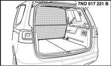 Trenngitter Kofferraum VW Sharan original Volkswagen