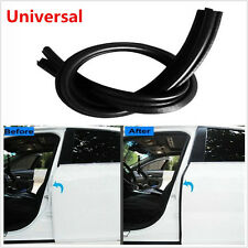 2Pcs B Pillar Car Door Rubber Sealing Strips Rear Edge Trim Windproof Soundproof