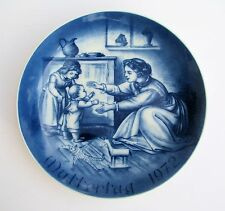 Bareuther 1972 Muttertag (Mothers Day) Family Porcelain Hanging Plate Germany
