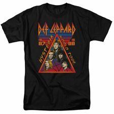 Def Leppard World Tour 1987 1988 Retro Style Adult Men's Tee Music Rock T-Shirt