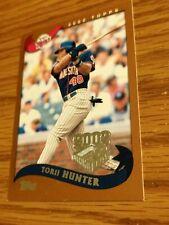 2002 Topps Baseball #243 Torii Hunter Opening Day