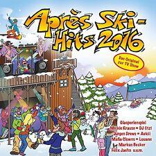 APRES SKI HITS 2016 2 CD NEU HELENE FISCHER/SIDO/ARIANA GRANDE/JUSTIN BIEBER