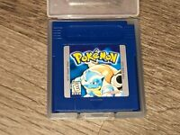 Pokemon Blue Version Nintendo Game Boy Battery Saves Cleaned Tested Authentic