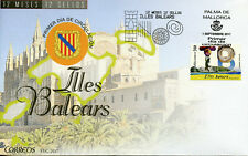 Spain 2017 FDC Illes Balears Balearic 12 Months 12 Stamps 1v S/A Cover Tourism