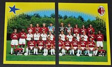 SQUADRA EQUIPE SAN SIRO AC MILAN ROSSONERI PANINI FOOT 98 FOOTBALL 1997-1998