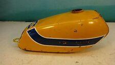 1973 Suzuki TS185 TS 185 S423. yellow gas fuel petrol tank